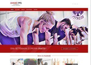 Amici del Fitness - Sviluppo Web - Anteprima