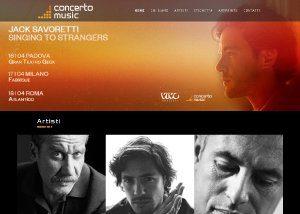 Concerto Music - Sviluppo Web - Anteprima