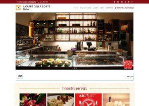 Il caffé della corte Bistrot – Sviluppo Web - Anteprima