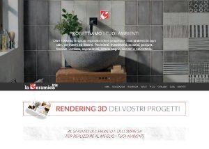 La Ceramica - Sviluppo Web - Anteprima