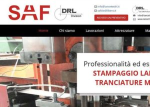 SAF-DRL - Sviluppo Web - Anteprima