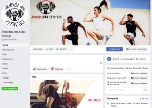 Amici del Fitness- Social Media - Anteprima