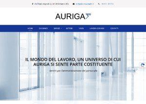 Auriga - Sviluppo Web - Anteprima