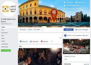 Il caffé della corte Bistrot – Social Media - Anteprima