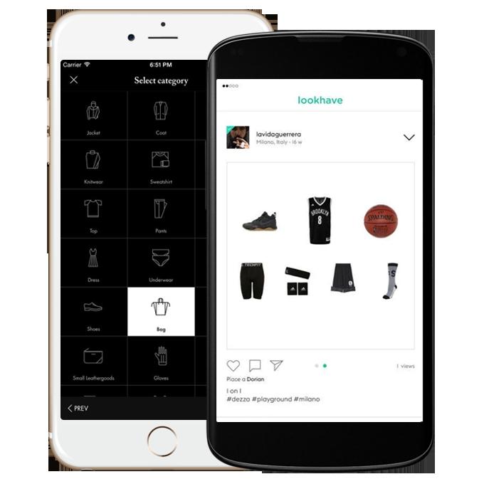 Servizi - Applicazioni Mobile - Luna Partner - Lookhave e Fabs