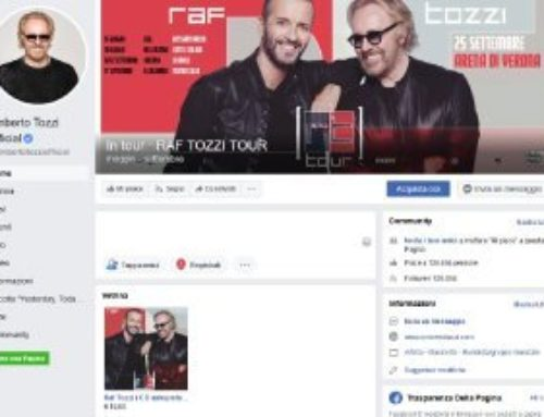 Umberto Tozzi (Momy records) – Social Media