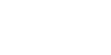 Advanced mobile document management and graphometric signature